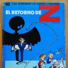 Cómics: SPIROU Y FANTASIO EL RETORNO DE Z POR FRANQUIN Nº 10 TAPA DURA. Lote 95417659