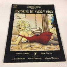 Cómics: HISTORIAS DE AMOR Y ODIO. VIBORA COMIX. Lote 95478803