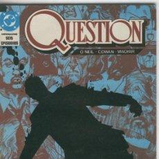 Cómics: QUESTION VOLUMEN 02: MARIPOSA. Lote 55533850