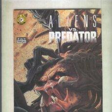 Cómics: ALIENS VS PREDATOR NUMERO 3. Lote 55620472