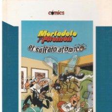 Cómics: COMICS. EL PAIS. Nº 3. MORTADELO Y FILEMÓN. EL SULFATO ATÓMICO. DIARIO EL PAÍS 2005. (Z/12). Lote 95599655