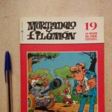 Cómics: COMIC - MORTADELO Y FILEMON LO MEJOR DEL COMIC ESPAÑOL - INFANTIL - NUMERO 19. Lote 95716663