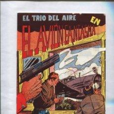 Cómics: FACSIMIL: EL TRIO DEL AIRE NUMERO 08: EL AVION FANTASMA. Lote 95716706