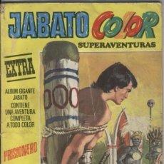 Cómics: JABATO COLOR ALBUM AMARILLO TERCERA EPOCA NUMERO 02: PRISIONERO (CELLO EN LOMO). Lote 95716738