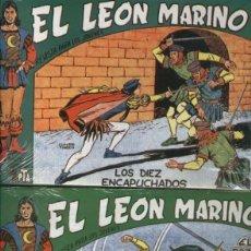 Cómics: FACSIMIL: EL LEON MARINO, COLECCION COMPLETA DE 24 NUMEROS. Lote 95716751