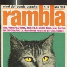 Cómics: RAMBLA REVISTA DE COMIC NUMERO 12. Lote 95716840