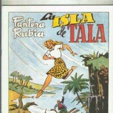 Cómics: PANTERA RUBIA FACSIMIL: LA ISLA DE TALA. Lote 95716888