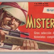 Cómics: SUPER MISTERIX EXTRAORDINARIO OESTERHELD 1959 RED TURNER PAT TRENTON JOE GATILLO 98 PAG EXCELENTE . Lote 95716971