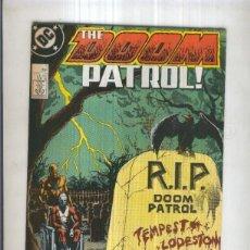 Cómics: DOOM PATROL , VOL.1 NO.05: NATURAL ORDER (DC 1988) . Lote 95716978