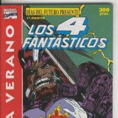 Cómics: LOS 4 FANTASTICOS: VERANO 1991: DIAS DEL FUTURO PRESENTE, PRIMERA PARTE. Lote 95717088
