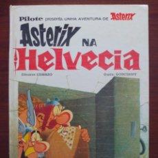 Cómics: ASTERIX EN GALLEGO GALEGO GALICIA ASTERIX NA HELVECIA MAS-IVARS 1ª EDICIÓN AÑO 1977. Lote 95763623