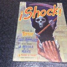 Cómics: ¡SHOCK! , RELATOS DE TERROR -CONTIENE POSTER CENTRAL FRANKENSTEIN. Lote 133846283