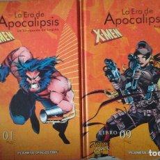 Cómics: X-MEN LA ERA DE APOCALIPSIS 1 AL 9. Lote 96001371