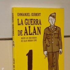 Cómics: LA GUERRA DE ALAN EMMANUEL GUIBERT - PONENT MON - OFERTA. Lote 96027707