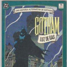 Cómics: BATMAN. GOTHAM LUZ DE GAS. ZINCO.. Lote 96029807