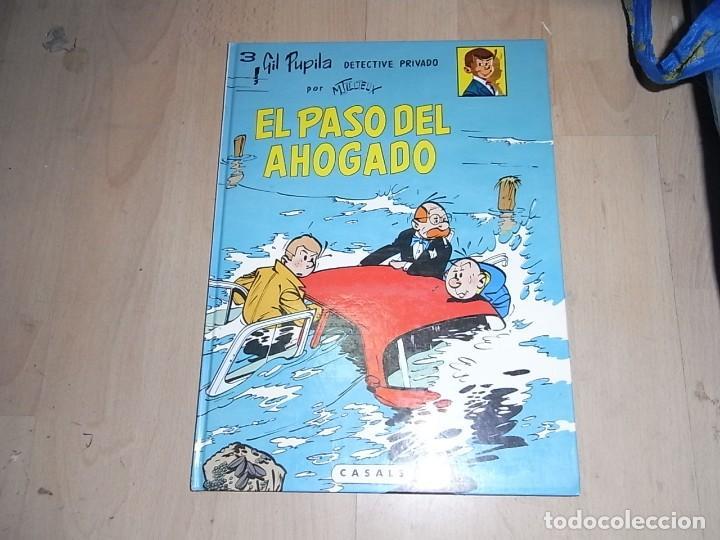 GIL PUPILA, EL PASO DEL AHOGADO, Nº 3, CASALS, 1987 (Tebeos y Comics - Comics otras Editoriales Actuales)