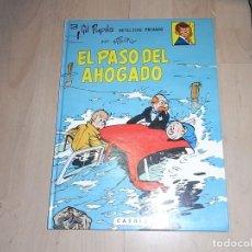 Cómics: GIL PUPILA, EL PASO DEL AHOGADO, Nº 3, CASALS, 1987. Lote 96294663