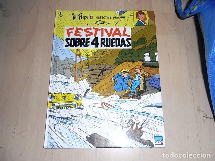 GIL PUPILA, FESTIVAL SOBRE 4 RUEDAS, Nº 6. CASALS, 2 ED. 1991 (Tebeos y Comics - Comics otras Editoriales Actuales)