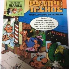 Cómics: ROMPE TECHOS- MIOPILLO COMO UN LADRILLO. Lote 96590394