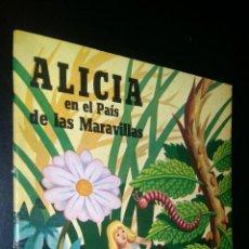 Cómics: ALICIA EN EL PAIS DE LAS MARAVILLAS. Lote 96641379