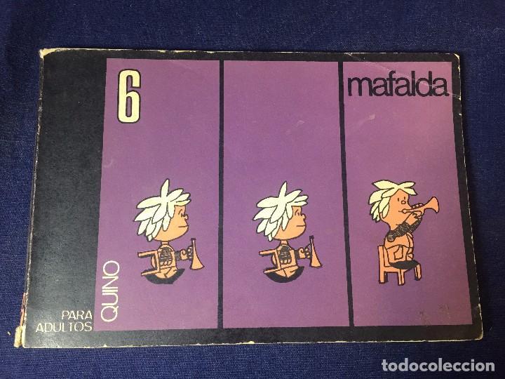 Cómics: Mafalda Nº 6 Quino Argentina para adultos editorial Lumen incompleto 13 x 20 cms. - Foto 2 - 96744303