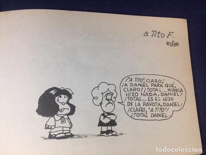 Cómics: Mafalda Nº 6 Quino Argentina para adultos editorial Lumen incompleto 13 x 20 cms. - Foto 3 - 96744303