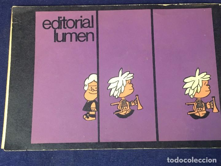 Cómics: Mafalda Nº 6 Quino Argentina para adultos editorial Lumen incompleto 13 x 20 cms. - Foto 8 - 96744303