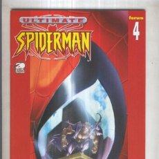 Cómics: ULTIMATE SPIDERMAN, VOL.1 NO.04: SUPERHEROE DE PRIMERA (FORUM 2002). Lote 96804078