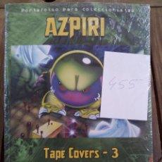 Cómics: PORTAFOLIO FIRMADO AZPIRI TAPE COVERS 3 VIDEOJUEGOS SPECTRUM / AMSTRAD / MSX NUEVO COLECCIÓN. Lote 97162099