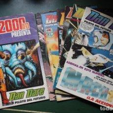 Cómics: DAN DARE PILOTO DEL FUTURO -COMPLETA- 6 NÚMEROS Y DAN DARE 2000 AC. Lote 97205351