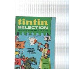 Cómics: TINTIN SELECTION, BIMESTREL: NUMERO 08 (DARGAUD 1970). Lote 95509598