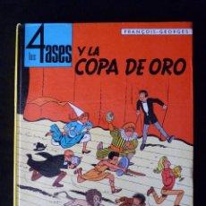 Cómics: LOS 4 ASES Y LA COPA DE ORO. FRANÇOIS-GEORGES. OIKOS-TAU. 1ª ED. 1969. Lote 118396980