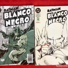 Cómics: BATMAN BLANCO Y NEGRO TOMOS 1Y 2 DC CÓMICS EDICIONES VID ANTOLOGÍA MULTIPREMIADA. Lote 97350439