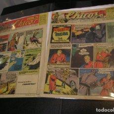 Cómics: FRANCISCO IBÁÑEZ PADRE DE MORTADELO SU PRIMERA PUBLICACON CHICOS 458 ( DE REGALO 448 )IMPECABLES. Lote 97415127