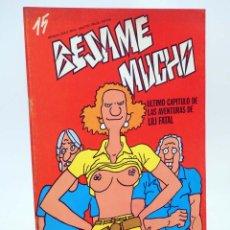 Cómics: REVISTA BESAME MUCHO 15. MOVIDA MADRID PRODUCCIONES EDITORIALES, 1979. OFRT. Lote 171688323