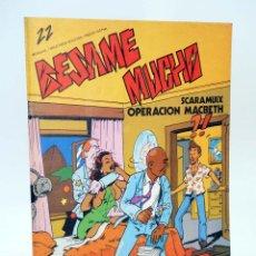 Cómics: REVISTA BESAME MUCHO 22. MOVIDA MADRID PRODUCCIONES EDITORIALES, 1979. OFRT. Lote 171688320