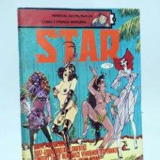 Cómics: REVISTA STAR 24. COMIX Y PRENSA MARGINAL PRODUCCIONES EDITORIALES, 1974. OFRT. Lote 136237146