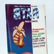 Cómics: REVISTA STAR 32. COMIX Y PRENSA MARGINAL PRODUCCIONES EDITORIALES, 1974. OFRT. Lote 165709894