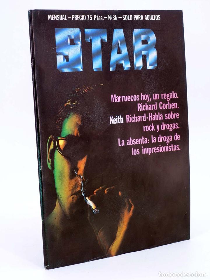REVISTA STAR 36. COMIX Y PRENSA MARGINAL PRODUCCIONES EDITORIALES, 1974. OFRT (Tebeos y Comics Pendientes de Clasificar)