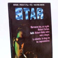 Cómics: REVISTA STAR 36. COMIX Y PRENSA MARGINAL PRODUCCIONES EDITORIALES, 1974. OFRT. Lote 182644950
