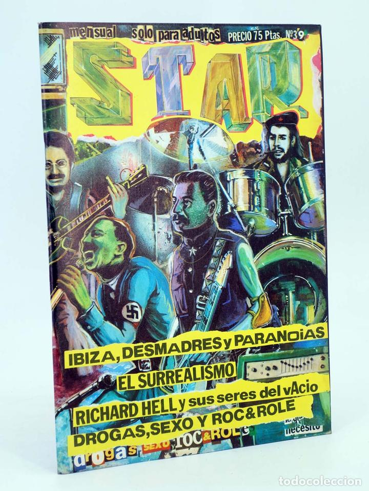 REVISTA STAR 39. COMIX Y PRENSA MARGINAL PRODUCCIONES EDITORIALES, 1974. OFRT (Tebeos y Comics Pendientes de Clasificar)