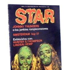 Cómics: REVISTA STAR 46. COMIX Y PRENSA MARGINAL PRODUCCIONES EDITORIALES, 1974. OFRT. Lote 177552423