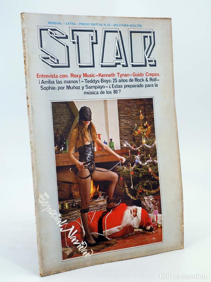 REVISTA STAR 53. COMIX Y PRENSA MARGINAL PRODUCCIONES EDITORIALES, 1974. OFRT (Tebeos y Comics Pendientes de Clasificar)