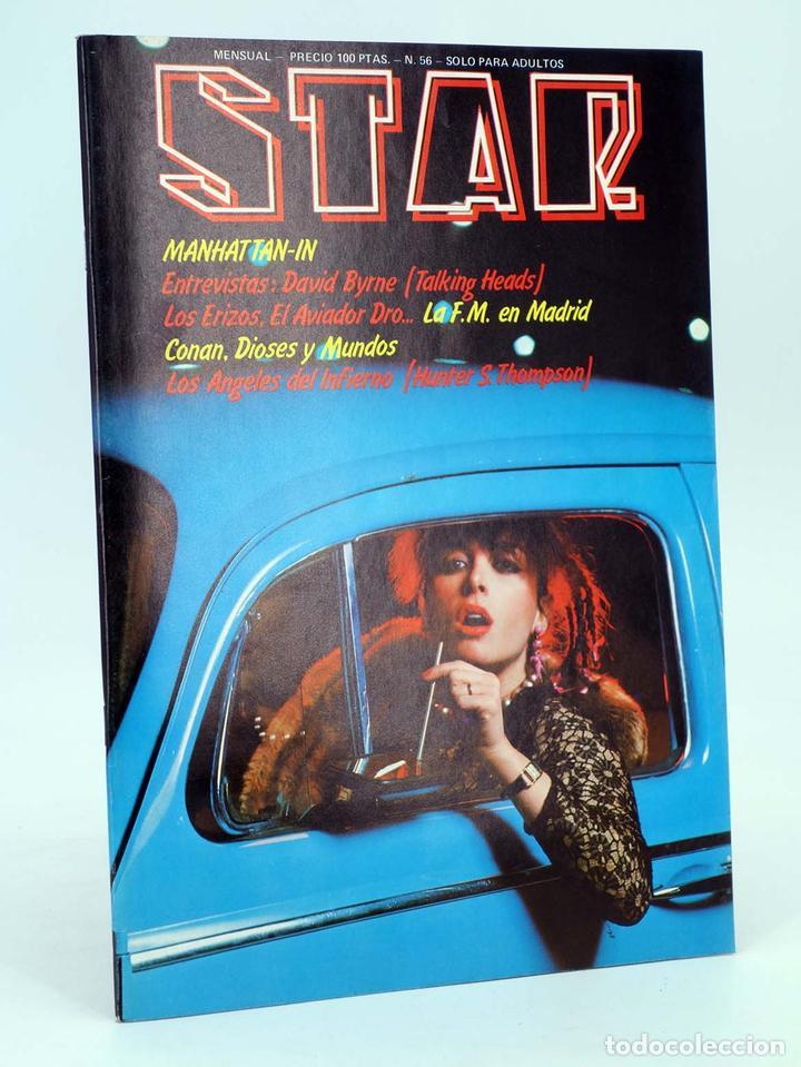 REVISTA STAR 56. COMIX Y PRENSA MARGINAL PRODUCCIONES EDITORIALES, 1974. OFRT (Tebeos y Comics Pendientes de Clasificar)