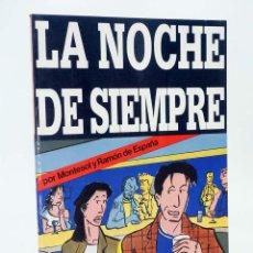 Cómics: ESPECIAL STAR BOOK 14. LA NOCHE DE SIEMPRE (MONTESOL) PROD ED., 1982. OFRT. Lote 171688319