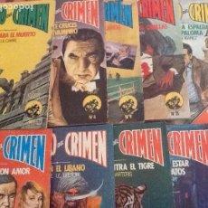 Cómics: CÍRCULO DEL CRIMEN, EDICIONES FORUM- 14 EJEMPLARES.. Lote 97566211
