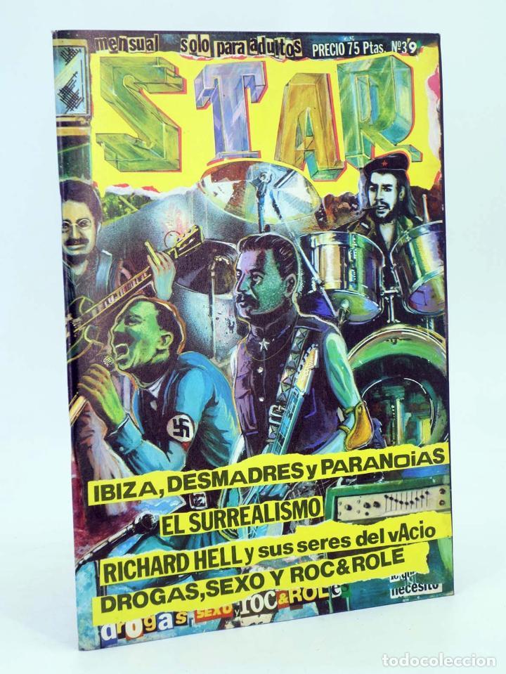 Cómics: REVISTA STAR 39. COMIX Y PRENSA MARGINAL PRODUCCIONES EDITORIALES, 1974. OFRT - Foto 2 - 182644960