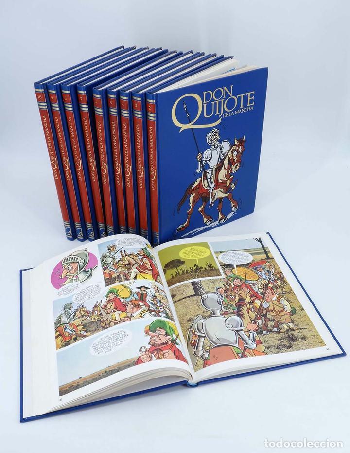 DON QUIJOTE DE LA MANCHA EN COMIC COMPLETO EN 10 TOMOS (ESTUDIOS SAUCE) CEMSA, 1993 (Tebeos y Comics - Comics Colecciones y Lotes Avanzados)