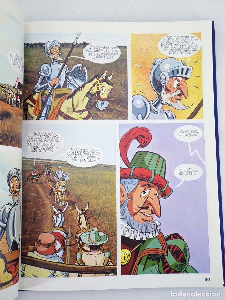 Cómics: DON QUIJOTE DE LA MANCHA EN COMIC COMPLETO EN 10 TOMOS (Estudios Sauce) Cemsa, 1993 - Foto 5 - 97781678