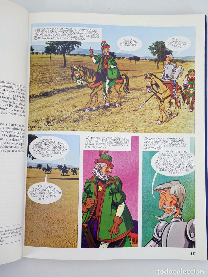 Cómics: DON QUIJOTE DE LA MANCHA EN COMIC COMPLETO EN 10 TOMOS (Estudios Sauce) Cemsa, 1993 - Foto 7 - 97781678